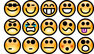 Emotion detection – iPhone and Samsung smartphones.